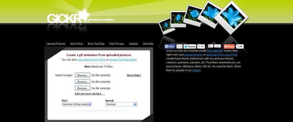 Gickr гиф анимация онлайн